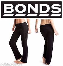 bonds maternity bonds womens black roll trackies trackpants