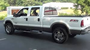 2006 ford f250 diesel for sale for sale 2006 ford f 250 lariat fx4 road 1 owner stk