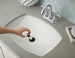 pfister 972053a push and seal pop up drain assembly for bathroom