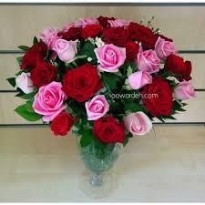 Send Flower Gifts - pink u0026 red roses send flowers to jordan