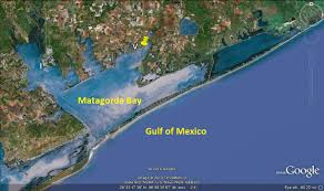 Texas Coast Map Palacios Texas U2013 Day 2 On The Road With Jim And Mary