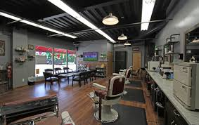 Small Shop Decoration Ideas Salon Design Ideas Barber Shop Layout Modern With Small Hair