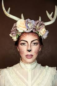 Fashion Halloween Makeup by Halloween Costume Makeup Easy Deer Makeup Tutorial