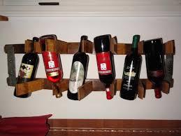 cool wall wine bottle holder modern design decor wine glass rack