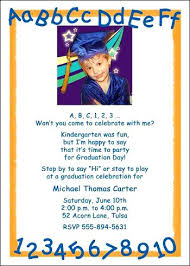 kindergarten graduation invitations kindergarten graduation invitations and learning your is and