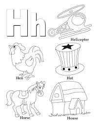 alphabet coloring pages in spanish spanish alphabet coloring pages letter h coloring pages h is for
