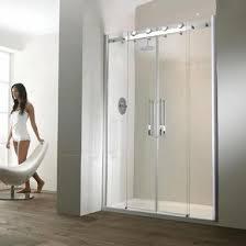 Shower Sliding Door Aquaglass Semi Frameless 1700mm Sliding Shower Door