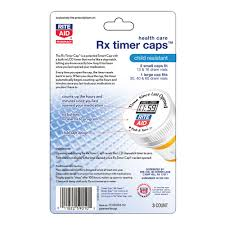 rite aid timer caps child resistant 3 package 2 std 13 16 dram