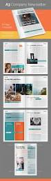 ms publisher newsletter templates free 65 best newsletter ideas 100 indesign templates images on 8 page a3 company newsletter