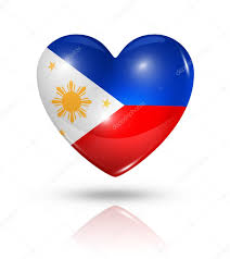 Flag Philippines Picture Love Philippines Heart Flag Icon U2014 Stock Photo Daboost 31992875