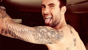 adam levine tattoos and house