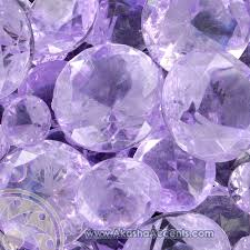akasha accents home decor accents lavender sparkling diamonds