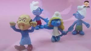 les schtroumpfs smurfs smurfette clumsy smurf gargmel smurfs