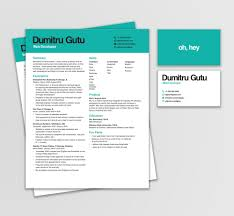 Personal Branding Resume Dumitru Resume Business Card U2014 Miranda Suzanne Graphic Design
