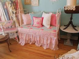 How To Convert Crib To Daybed by Shabby Chic Daybed Antique Iron Baby Crib Antique Wrought U2026 Flickr