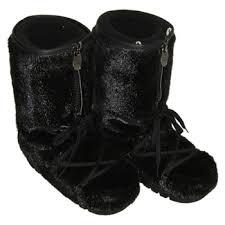 womens fur boots canada fur boots black