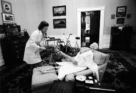 first lady betty ford and her secretary dress up a halloween
