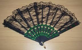 black lace fan black lace fan code 425 scalliwags