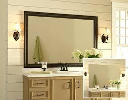 Large Framed Bathroom Wall Mirrors Bathroom Wall Mirrors Engem Me