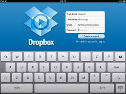 use dropbox for storage with the ipad iphone and other devices