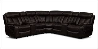 Value City Sectional Sofa Diablo 7 Power Reclining Sectional With Armless Power Chair