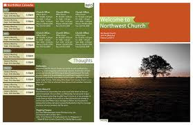 church welcome brochure templates templates resume exles