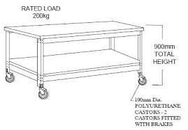 height of kitchen island standard bench height kitchen fitbooster me