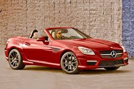 convertible mercedes red 2016 mercedes benz slk class pricing for sale edmunds