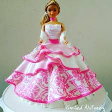 doll cake how to make princess doll cakes grated nutmeg