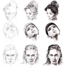 best 25 female face drawing ideas on pinterest draw faces how