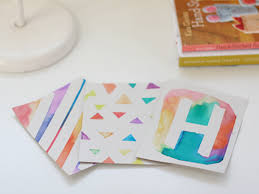 handmade watercolor cards diy watercolor washi cards