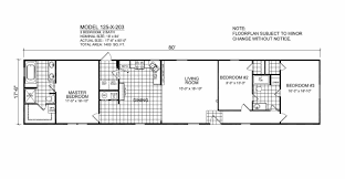 Floor Plans For Trailer Homes Champion Homes Single Wide Floor Plans