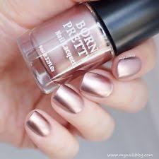 born pretty metallic mirror nail polish metal rose gold manicure
