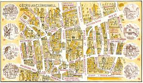 Bluebird Map A Clerkenwell Tale The London Bluebird