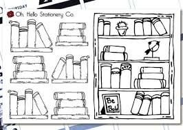 bullet journal reading tracker books r4 u2013 oh hello stationery co