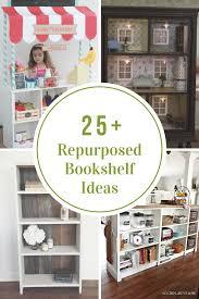 repurposed bookshelf ideas the idea room 25 diy repurposed bookshelf ideas