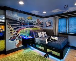 bed ideas contemporary boys bedroom color schemes sports idea