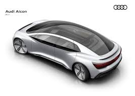audi aicon unveils at the frankfurt motor show as a concept of the
