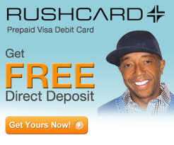 how to get a prepaid card get rushcard prepaid visa debit card free direct deposit no annual