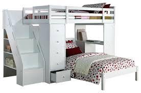 loft bed with desk plans bunk bed with desk excellent twin size loft bed desk chest all in 1