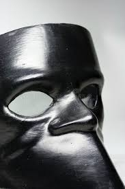 black bauta mask bauta the traditional venetian mask stock image image of