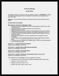 exle of cashier resume pleasing resume for cashier at restaurant about sle fast food of