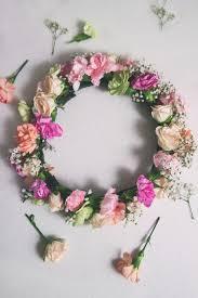 flower crowns how to diy flower crown sisoo