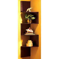 bathroom foxy corner shelf display cabinet book vintage mid