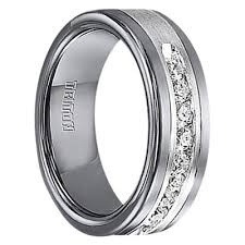 unique mens wedding band 1 2 cwt diamond unique mens wedding bands in sterling silver a388c