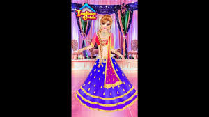 indian doll bridal collection dress up a bride girls game kids