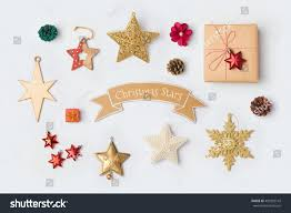 decorations collection mock template stock photo