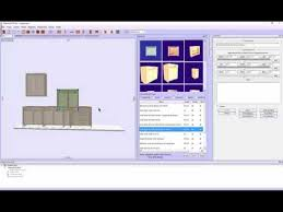 quick kitchen cabinet design software youtube