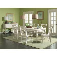 riverside 16750 placid cove rectangle dining table in honeysuckle