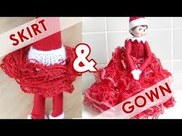 on the shelf clothes frilly skirt sneaky gown diy doll clothes